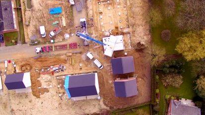 Modulart: 1 day home construction