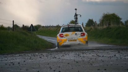 Seasucker: Test on WRC Car